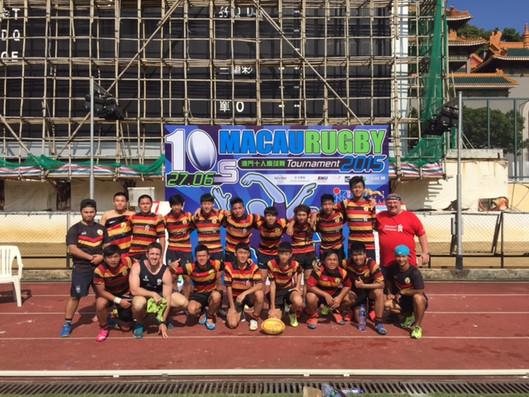 OB Rugby team in Macau.