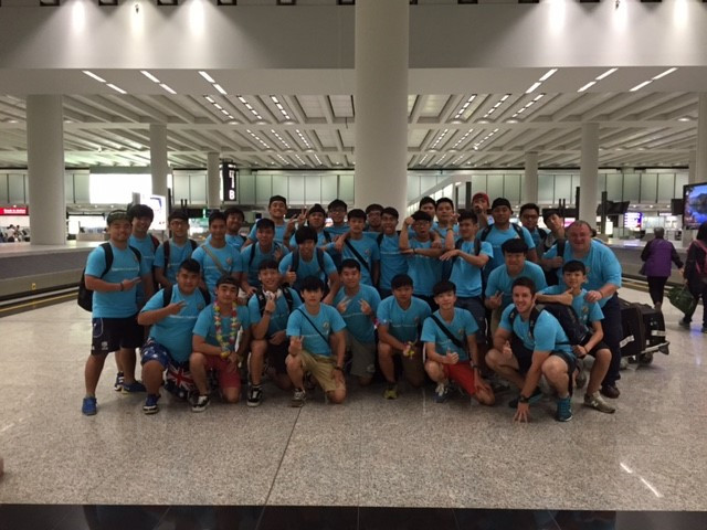 As the above photo shows we all got back safe and sound. Three of the lads had HK U19 trials this morning, which I hope they managed to get up for and show their best at.