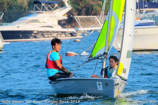 OPB Sailing team takes on the Hebe Haven 24hrs Race 2018 奮進行動風帆隊參與白沙灣遊艇會24小時慈善小艇賽2018