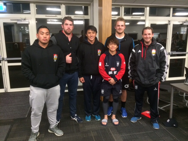 3 Breakthrough rugby boys in New Zealand.