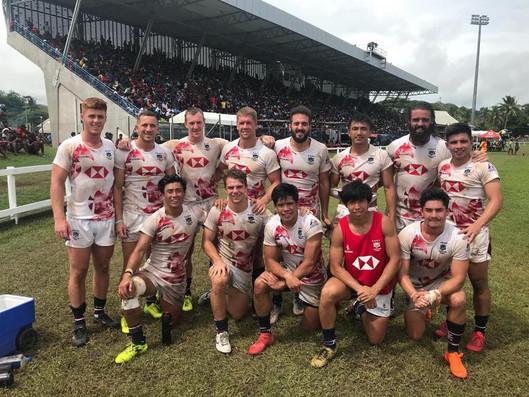 Operation Breakthrough Rugby Alumni represents Hong Kong at Fiji Coral Coast Sevens 2019