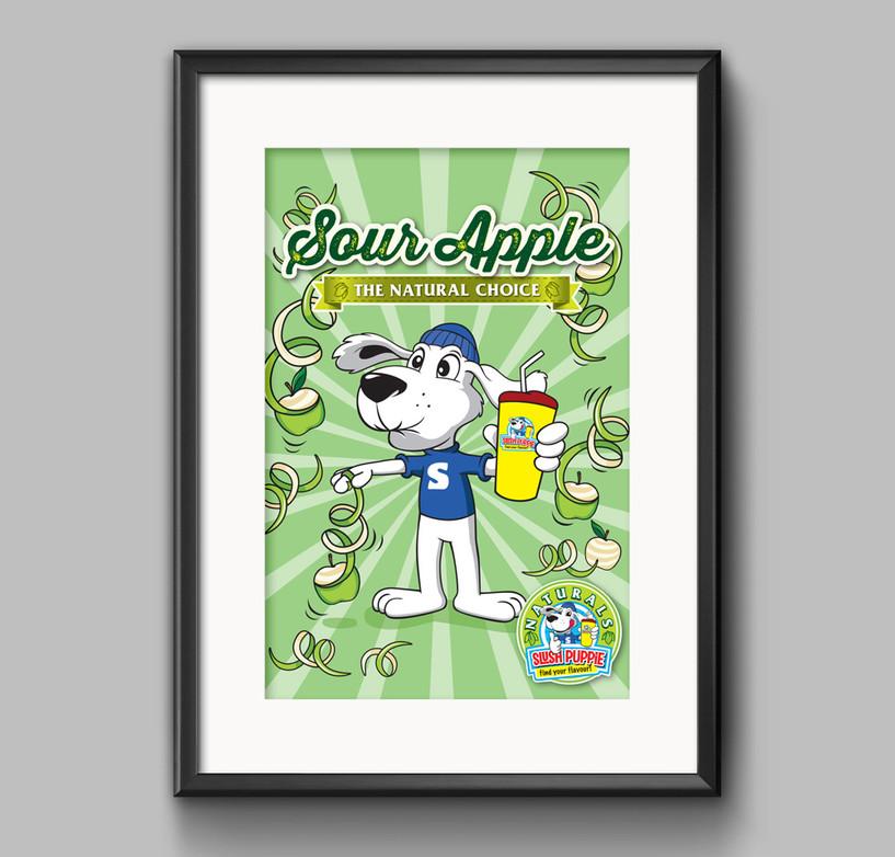 Poster Frame PSD MockUp _SP Sour Apple g