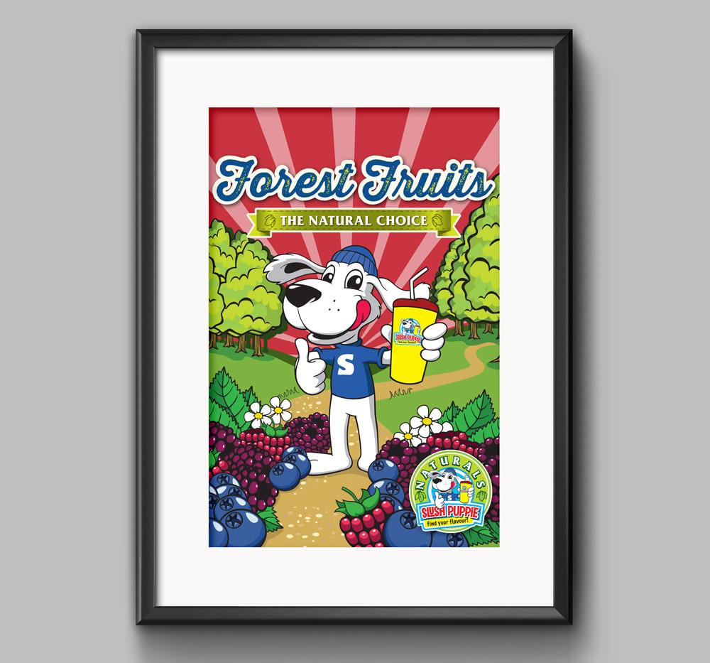 Poster Frame PSD MockUp _SP Forrest Frui