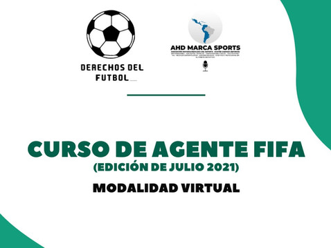 Inscríbete al Curso de Agente FIFA