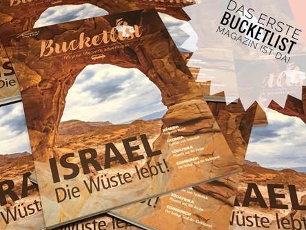 Bucketlist: Das Reisemagazin aus der BEXX Media Communication GmbH