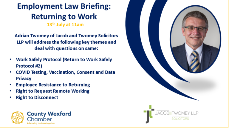 Employment Law Briefing: Returning to Work