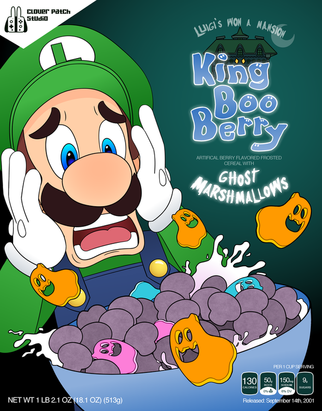 King Boo Berry Poster
