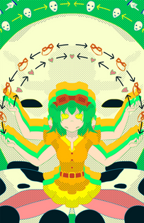10-faced Gumi Megpoid