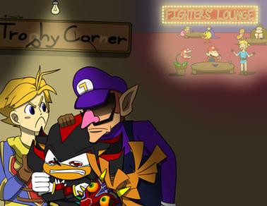 Trophy Corner Poster
