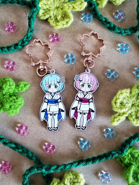 Young Rem & Ram Charms