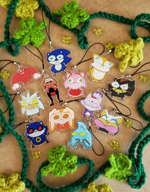 Silly Sonic & Friends Charms