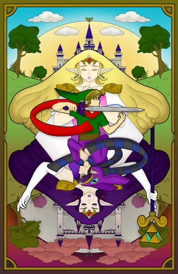 a Link Between Worlds Poster