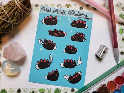 Pyukumuku Stickers