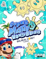Super Mario HoneyShines Poster