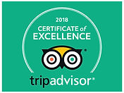 2018 Trip advisor certificate of excelle