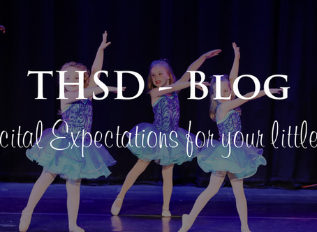 Recital Expectations for Your Little One
