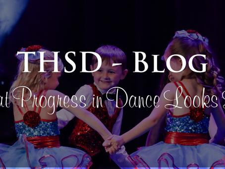 What Progress in Dance Looks Like?