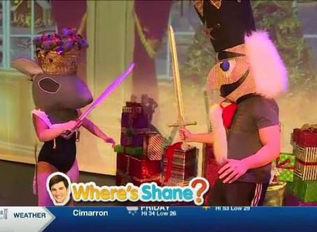 KWCH Where's Shane? Nutcracker