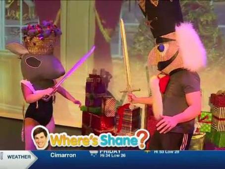 KWCH Where's Shane? Nutcracker