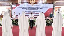 Lantik Ketua IPHI & MTP  Nganjuk, Wagub Emil Ajak Pengurus Berdharma Bakti pada Masyaraka & Umat