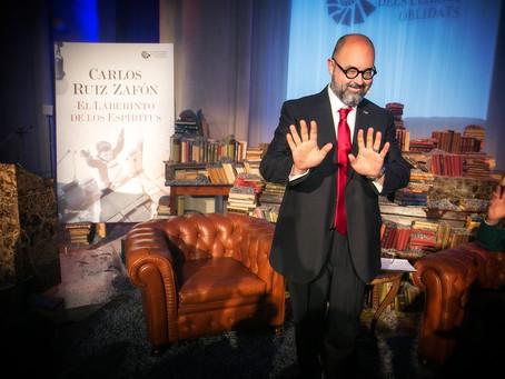 Libros que no se olvidan. Un homenaje a Carlos Ruiz Zafón