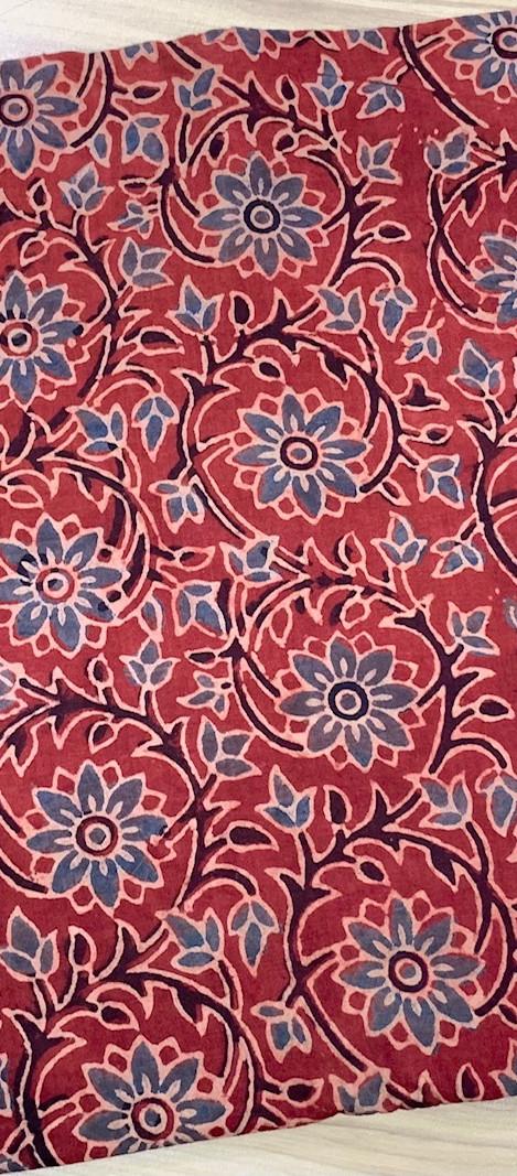 Ajrakh Cotton Fabric.