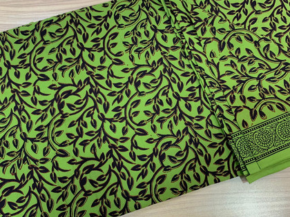 Bagh Print Cotton Fabric.