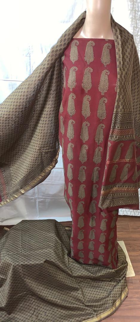 Bagh Maheshwari suit