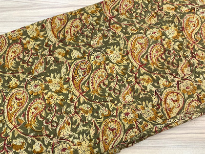 Kalamkari Cotton Fabric