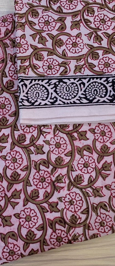 Bagh Print Cotton Material.