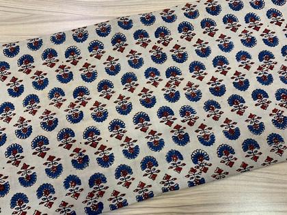 Ajrak Print Cotton Material