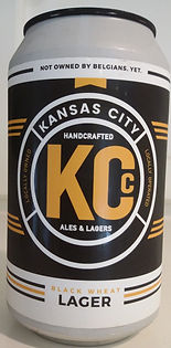 KC Craft Black Wheat Lager