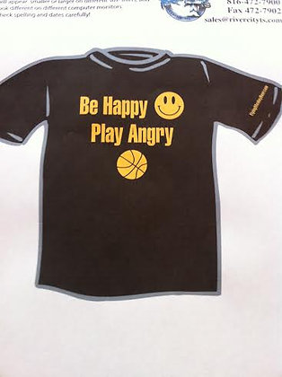 Be Happy Play Angry