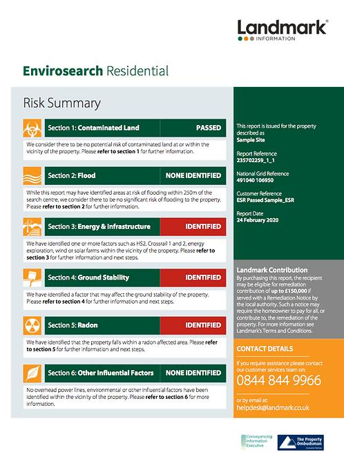 Envirosearch Residential