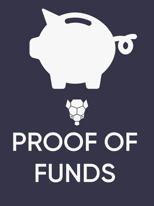 Armalytix Proof of Funds report