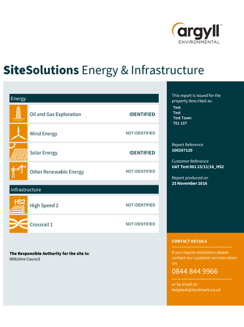 Argyll Energy & Infrastructure Report