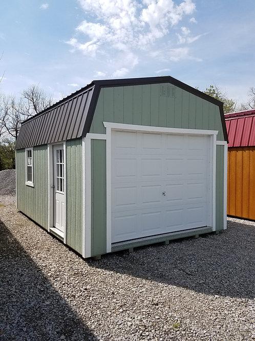 High Barn Style Garage