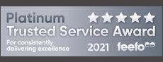 Feefo Platinum 2021