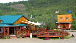 Chicken Gold Campground, Chicken, Alaska