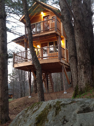Moose Meadow Lodge and Treehouse, Vermont