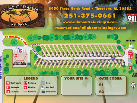 All About Relaxing RV Park, Theodore Alabama