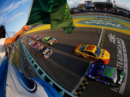 November 14 NASCAR at Homestead Motor Speedway, Miami