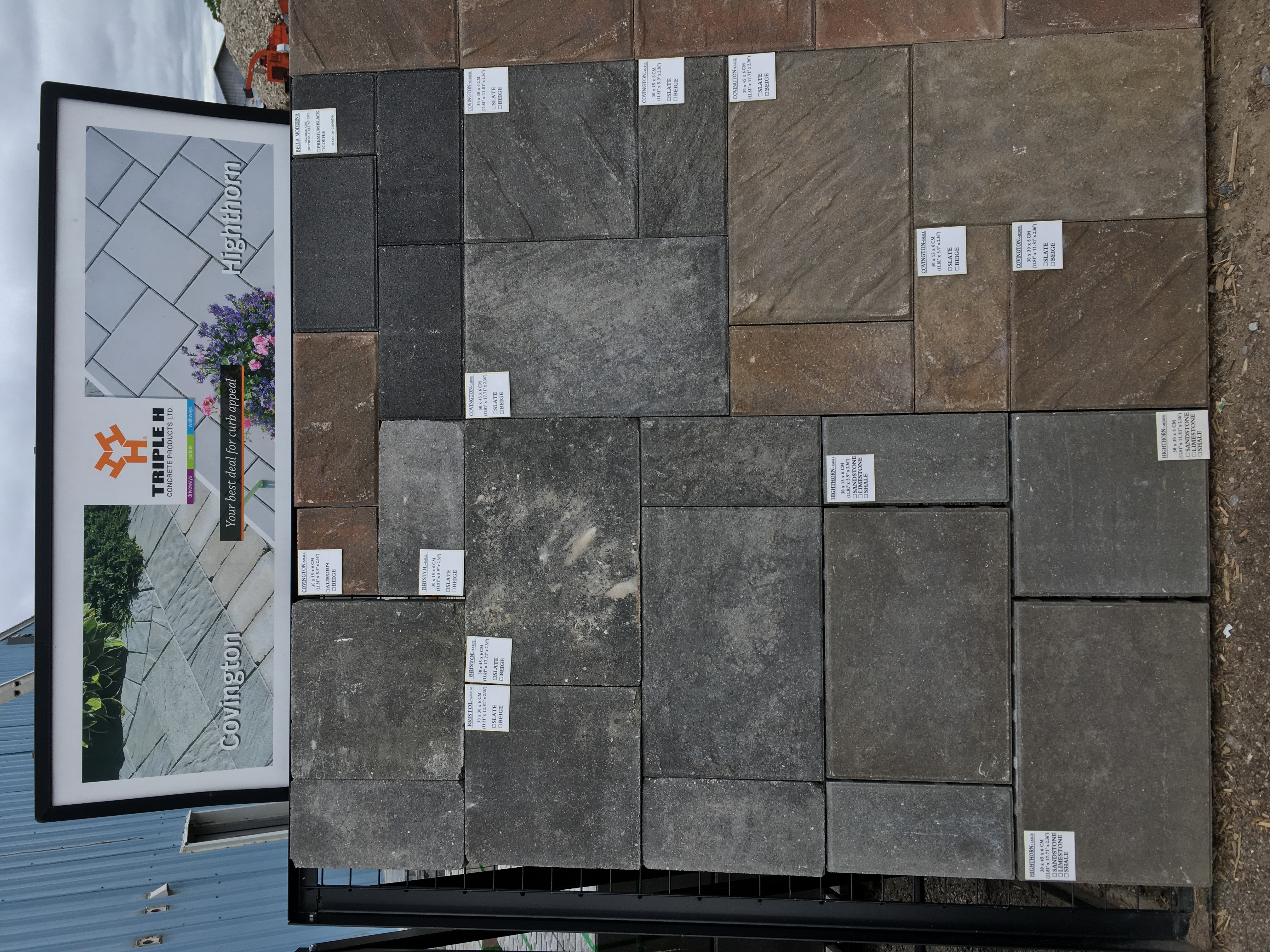 Pavers and Patio Stones