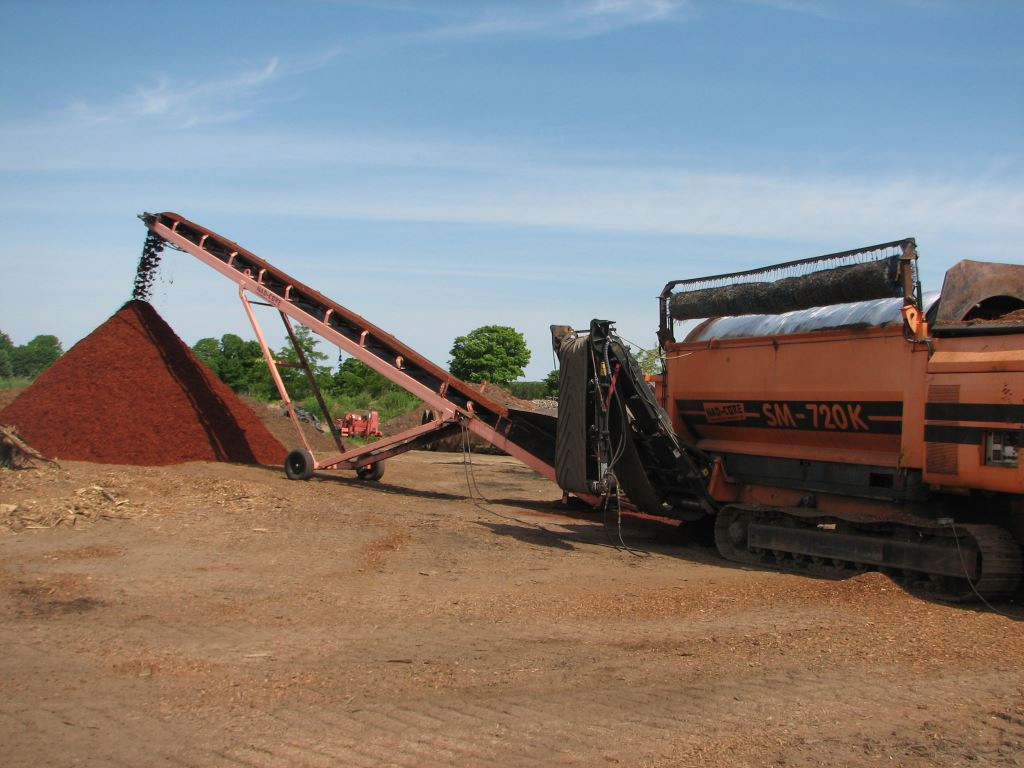 Mulch Processing
