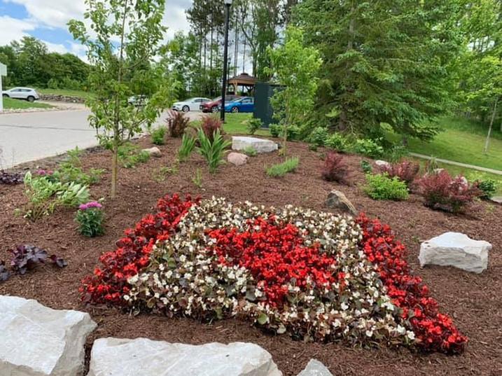 Carriage Hills 2019 Garden Canada Flag.j