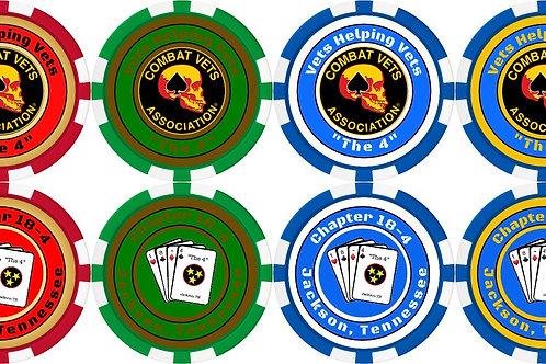 Chapter Poker Chips