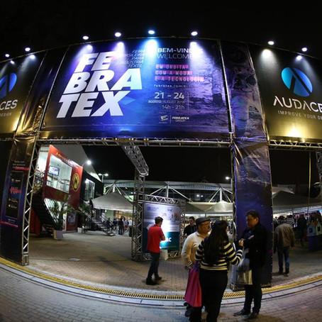 Febratex é adiada para agosto de 2022