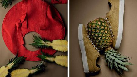 2 apostas em matérias-primas de origem vegetal: Calçados