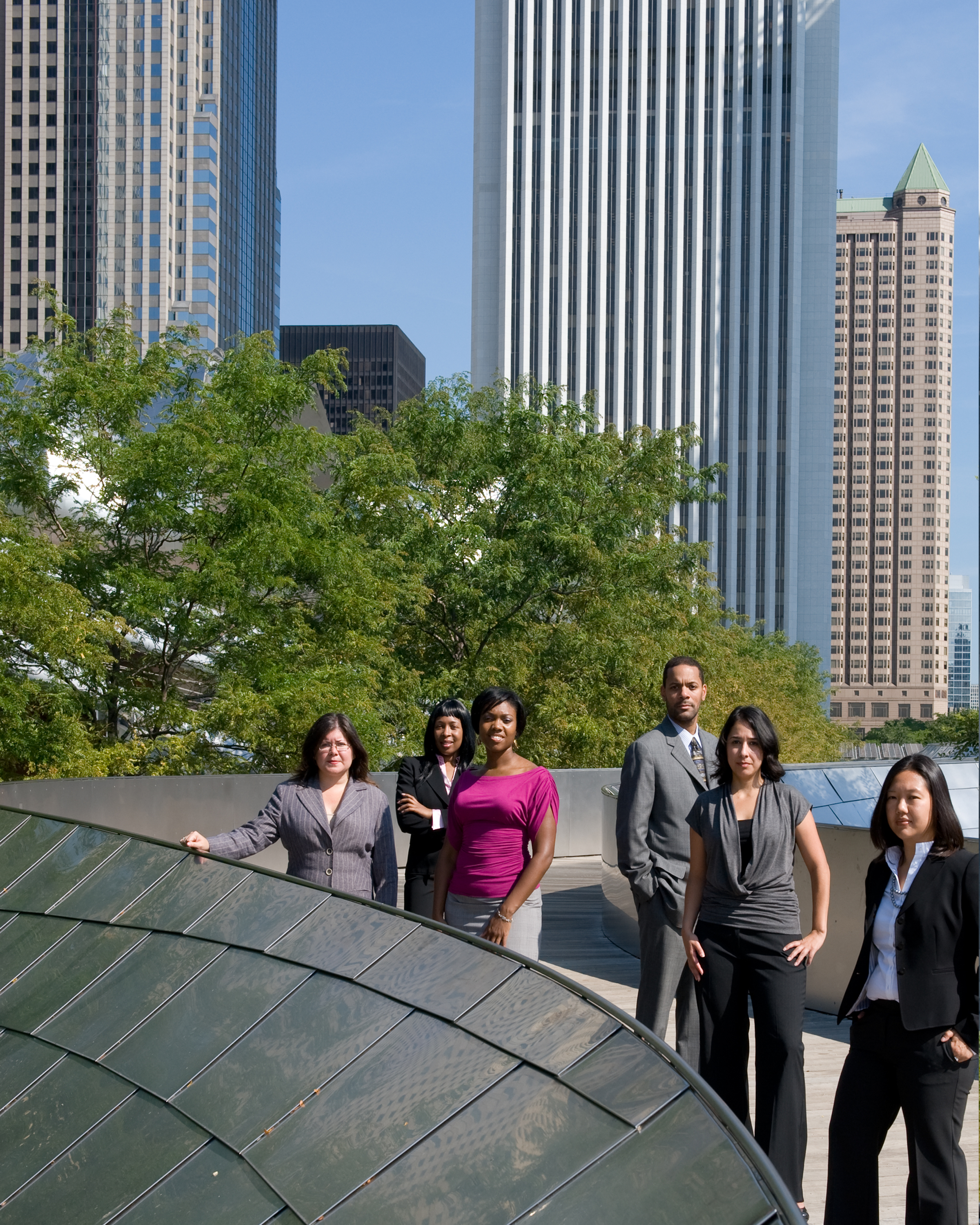 Executive Team in Millenium Park