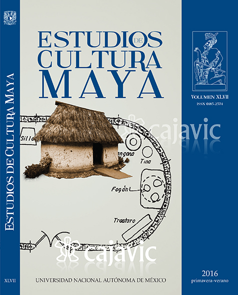 Estudios de Cultura Maya XLVii